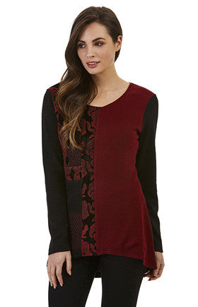 Womens tops W171210 black/red