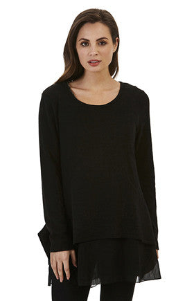 Womens tops W171212 black