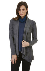 Womens jackets W171312 charcoal