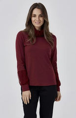 Womens basics W181126 burgundy