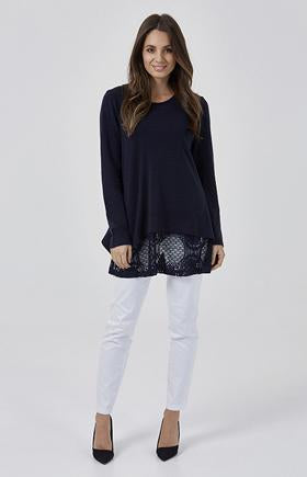 Womens tops W181201 navy