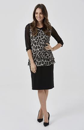 Womens tops W181211 leopard