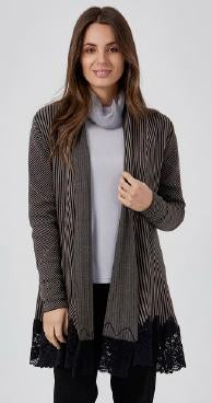 Womens jackets W181318 taupe