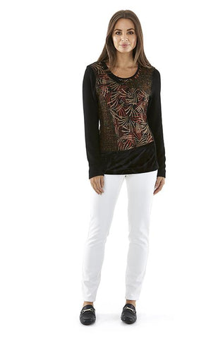 Womens tops W182200 black