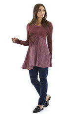 Womens tops W182202 berry