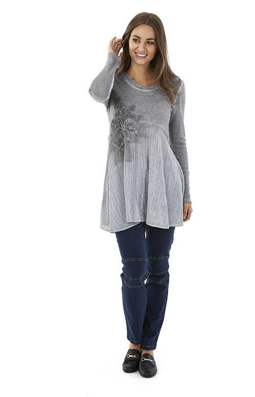 Womens tops W182202 grey