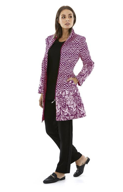 Womens jackets W182311 berry