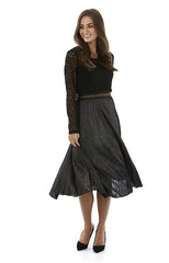 Womens skirts W182400 black/gold