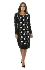 Womens dresses W182510 black