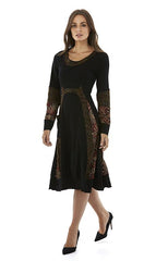 Womens dresses W182515 black