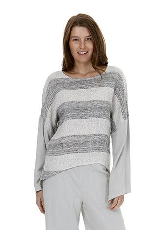Womens tops W191202 grey