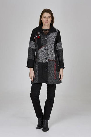 Womens jackets W191306 charcoal