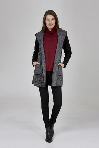 Womens jackets W191312 charcoal