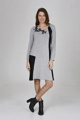 Womens dressess W191501 grey