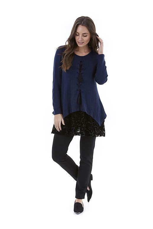 Womens top W192256 navy