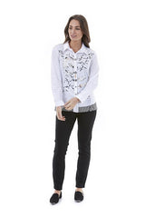 Womens top W201200 white