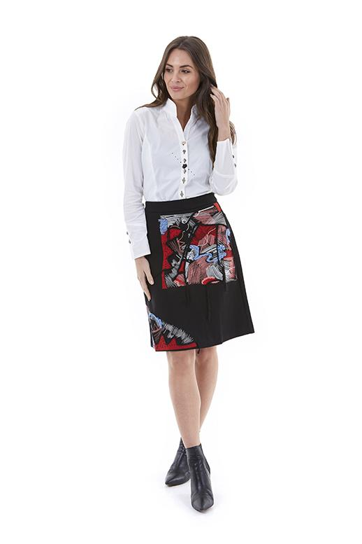 Womens skirt W201400 black