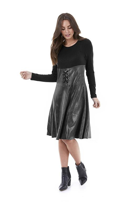 Womens dress W201505 black