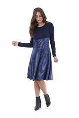Women dress W201505 navy