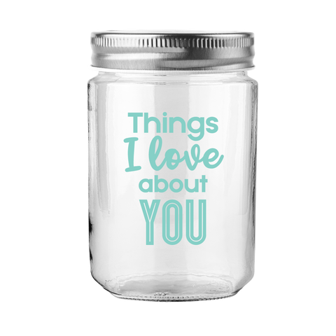 Tarro de Deseos THINGS I LOVE ABOUT YOU