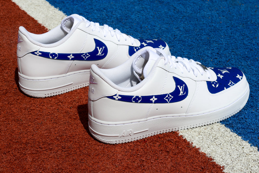 NIKE Air Force 1 '07 Dark Blue LV