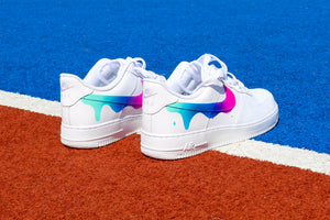 NIKE Air Force 1 '07 Rainbow Drip