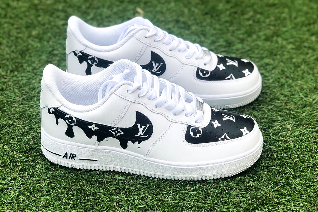 NIKE Air Force 1 '07 Black Drippy LV