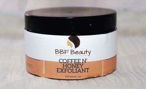 Coffee and Honey Facial Scrub