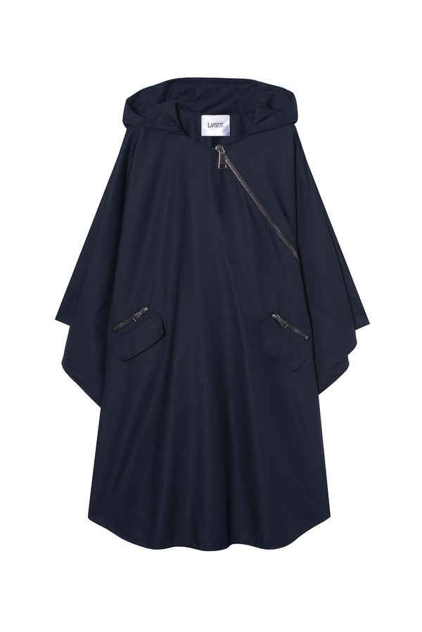 TECHNICAL FABRIC CAPE RAQUEL NAVY