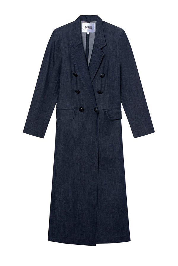 RAW DENIM COAT PAOLO