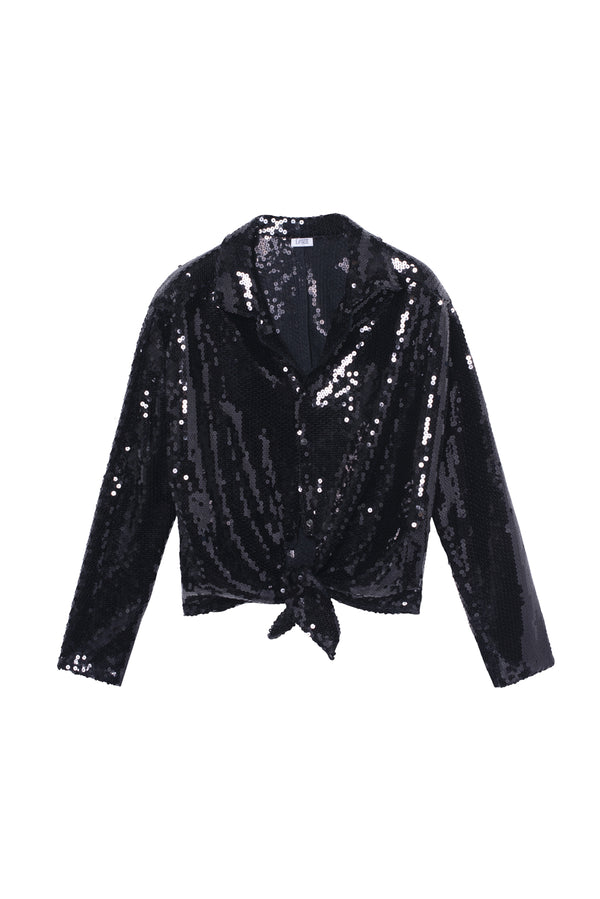 Sequins Top Lise Black