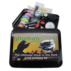 Deluxe Glow in the Dark Luminous Fishing Lure & Jig Painting Kit - Glomania