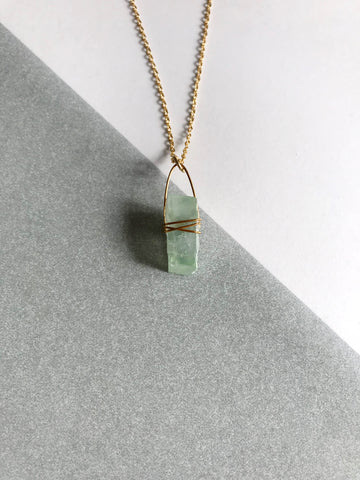 Green Calcite Gold