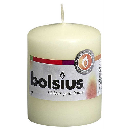 Bolsius Ivory Pillar Candle 80x60mm