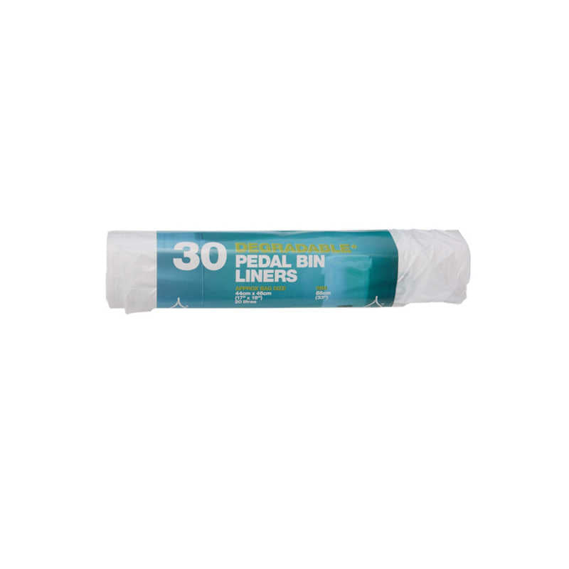 Essential Housewares 20 Litre Degradable Pedal Bin Liners (Pack of 30)