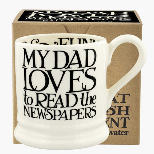 Emma Bridgewater Black Toast I Love My Dad 1/2 Pint Mug