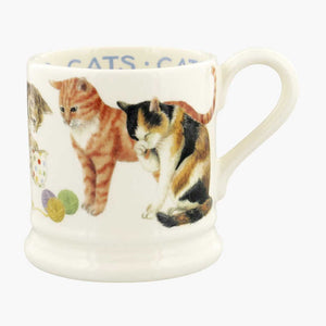 Emma Bridgewater Cats Cats 1/2 Pint Mug
