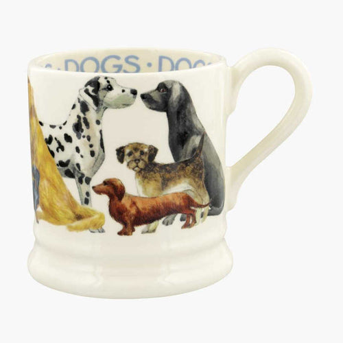 Emma Bridgewater Dogs Dogs All Over 1/2 Pint Mug