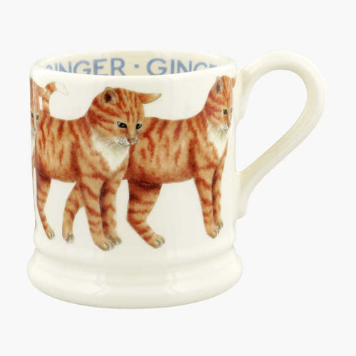 Emma Bridgewater Cats Ginger Cat 1/2 Pint Mug