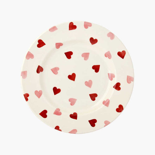 Emma Bridgewater Pink Hearts 8 1/2 inch Plate
