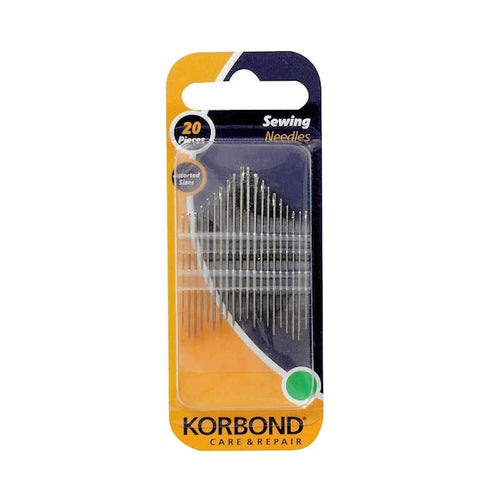 Korbond Sewing Needles (Pack of 20)