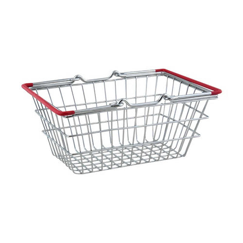 Apollo Chrome Mini Shopping Basket