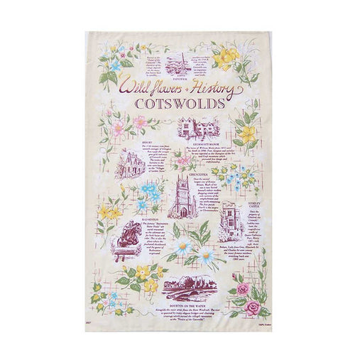 Stow Green Cotswolds Souvenir Tea Towels (Various Designs)