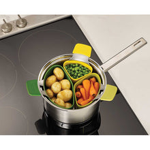 Load image into Gallery viewer, Joseph Joseph Nest Steam 3-Piece Steaming Pod Set