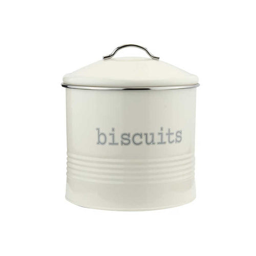 Apollo Round Cream Biscuit Canister