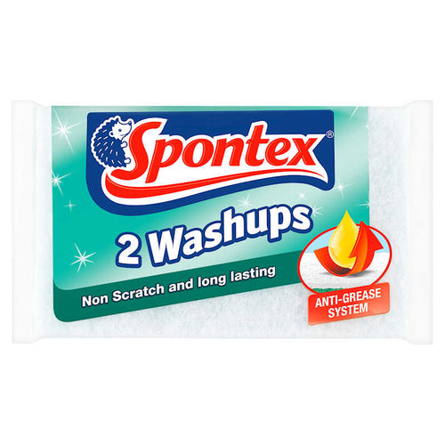 Spontex Non Scratch Washups (Pack of 2)