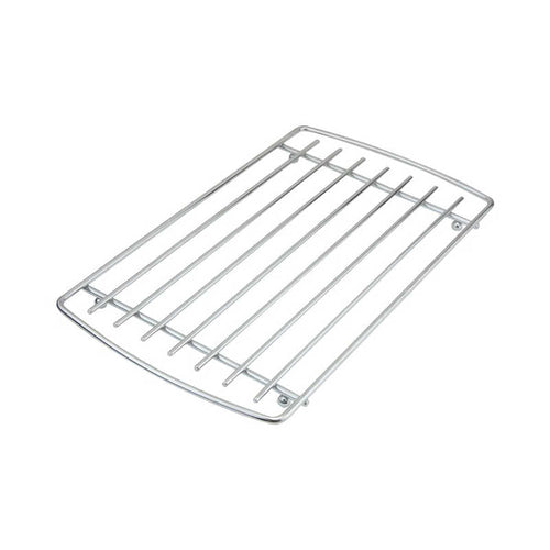 Apollo Rectangular Chrome Trivet