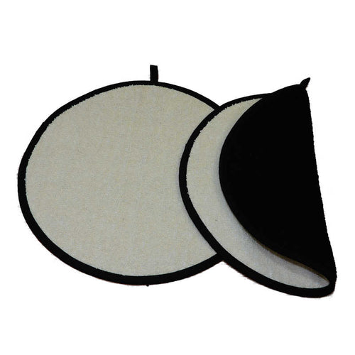 Norfolk Kitchen Hob Cover Black/Cream