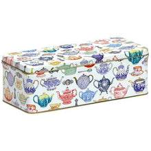 Load image into Gallery viewer, Elite Tins Rectangular Cracker Tin (Assorted Designs)