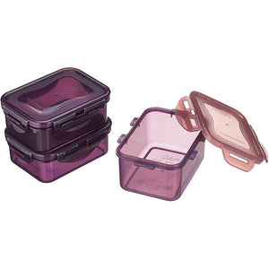 LocknLock Set of 3 Eco Friendly Food Containers
